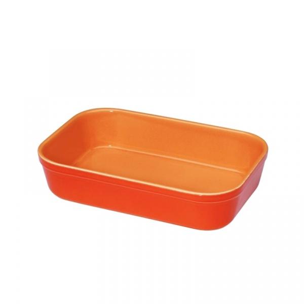 Naczynie żaroodporne prostokątne Kuchenprofi pomarańczowe KU-0706004028