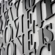 Napis na ścianę DekoSign TBW1-1