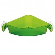 Narożnik organizer łazienkowy Koziol Boks zielony