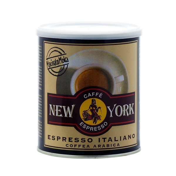 New York Lattina 100% Arabica Macinato Moka CD-Trader24
