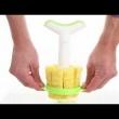 Nóż do ananasa z obieraczką Tommorow's Kitchen zielony TK-4872360
