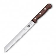 Nóż do pieczywa 21cm Victorinox brązowy