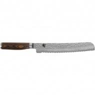 Nóż do pieczywa 23cm KAI SHUN PREMIERE srebrny/drewno