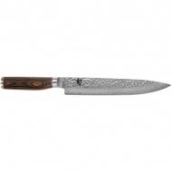 Nóż do plastrowania 24cm KAI SHUN PREMIERE srebrny/drewno