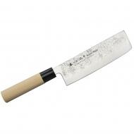 Nóż do ziół i warzyw 16cm Satake Nashiji Natural Nakiri