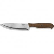 Nóż kucharski 12cm Rennes Lamart srebrno-brązowy