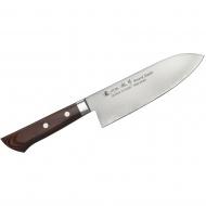 Nóż Mahogany Santoku 17cm Satake Unique