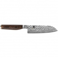Nóż Santoku 14 cm KAI SHUN PREMIERE srebrny/drewno