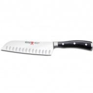 Nóż Santoku 17cm Wüsthof Ikon Classic czarny