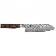 Nóż Santoku 18cm KAI SHUN PREMIERE srebrny/drewno