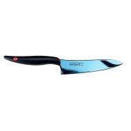 Nóż szefa kuchni kuty Titanium dł. 13 cm, niebiesk