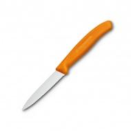Nóż ząbkowany 19cm Victorinox pomarańczowy