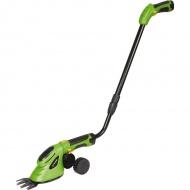 Nożyce akumulatorowe do trawy i krzewów 130cm Fieldmann zielone