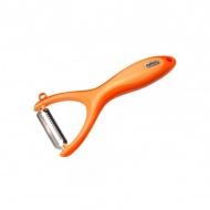 Obieraczka poprzeczna-nożyk Zyliss Julienne pomarańczowa
