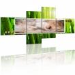 Obraz - Abstrakcja w bambusie A0-N1191-DKX
