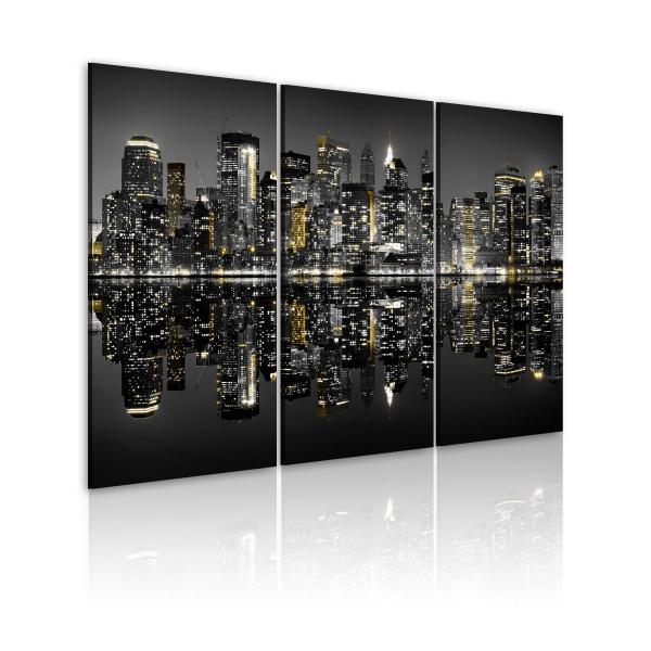 Obraz - Błysk fleszy w Nowym Jorku (60x40 cm) A0-N1739