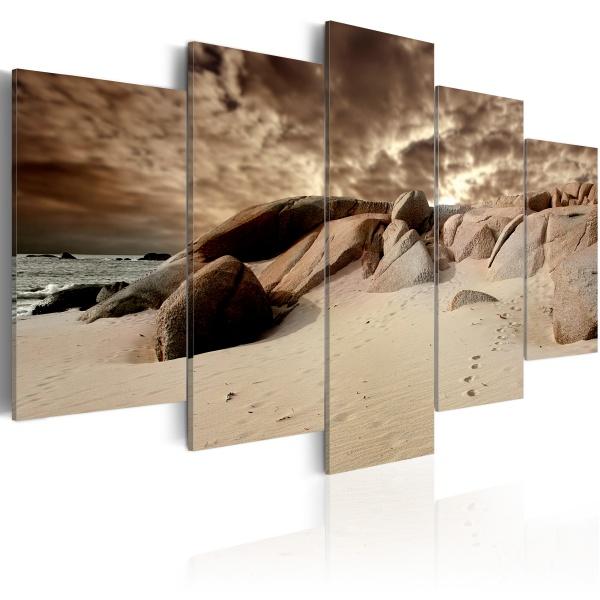 Obraz - Chmury piasku (100x50 cm) A0-N1576