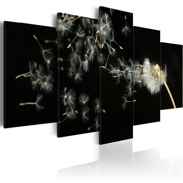 Obraz - Chwile ulotne jak dmuchawce (100x50 cm) A0-N1408