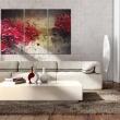 Obraz - Czerwony splash A0-N1356