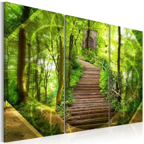 Obraz - Dążenie do szczęścia (60x40 cm) A0-N1692