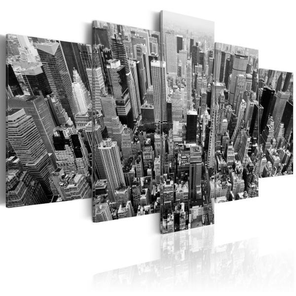 Obraz - Drapacze chmur Nowego Jorku (100x50 cm) A0-N1363
