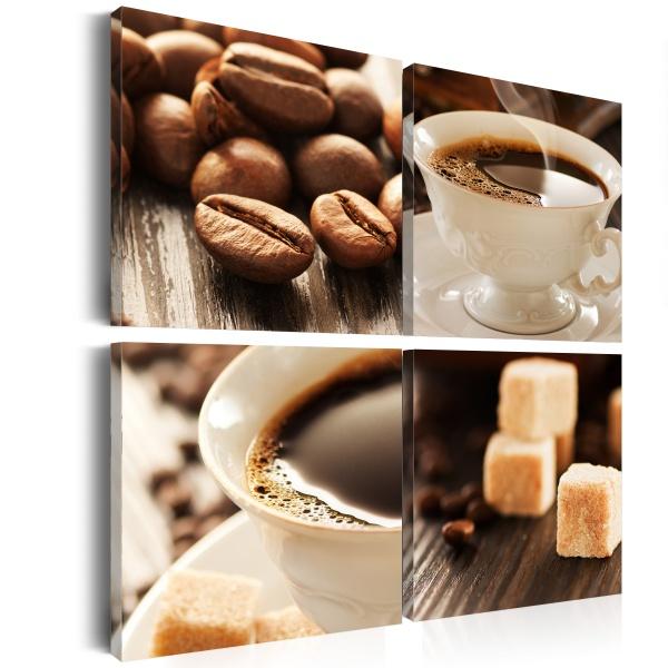 Obraz - Filiżanka kawy (40x40 cm) A0-N1443