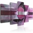 Obraz - Fioletowa abstrakcja A0-N1142