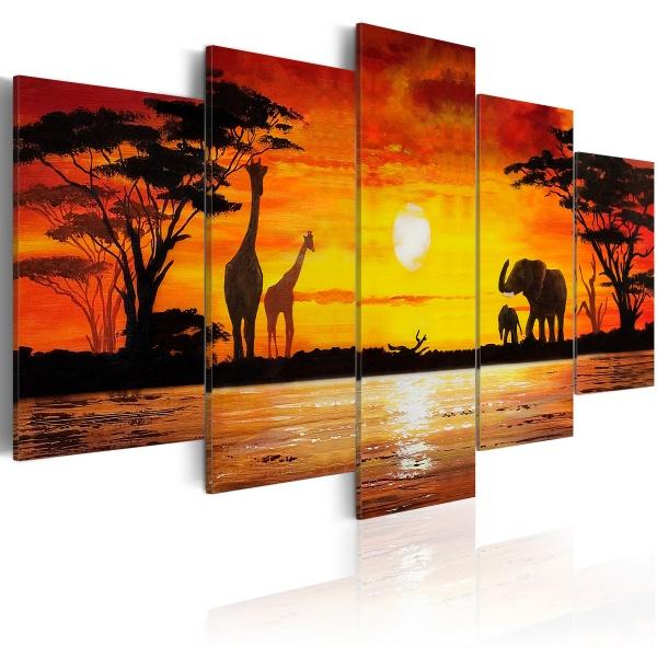 Obraz - Gorące Safari (100x50 cm) A0-N1622