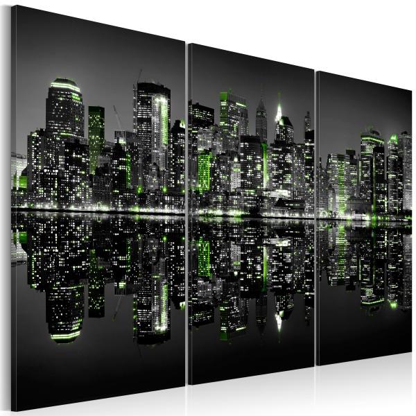 Obraz - Green New York (60x40 cm) A0-N1738