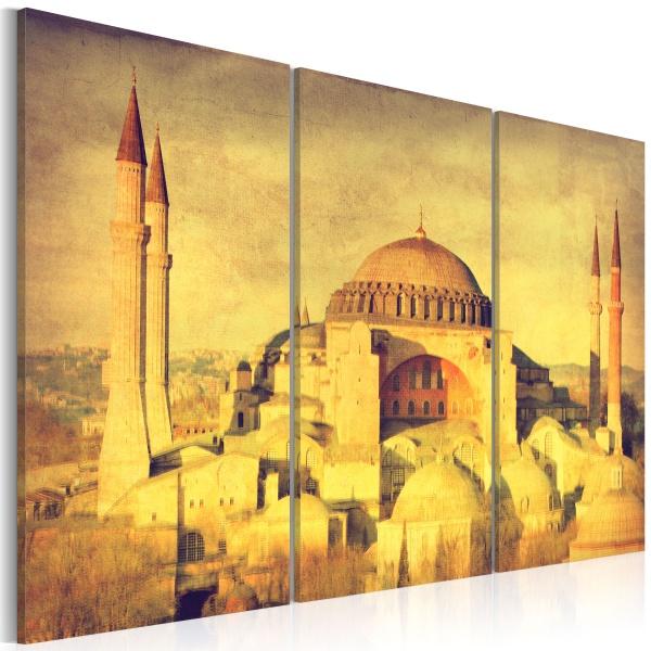 Obraz - Inspiracja Orientem w wersji retro (60x40 cm) A0-N1729
