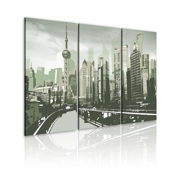 Obraz - Inspirowane Szanghajem, Chiny (60x40 cm) A0-N1674