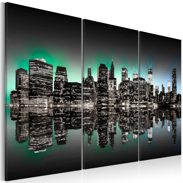 Obraz - Inspirujące światła Nowego Jorku (60x40 cm) A0-N1825