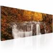 Obraz - Jesień i wodospad A0-N1204
