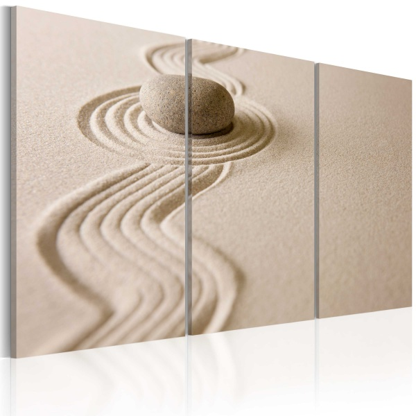 Obraz - Kamień na pustyni (60x40 cm) A0-N1398
