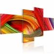 Obraz - Kolorowe paski A0-N1346