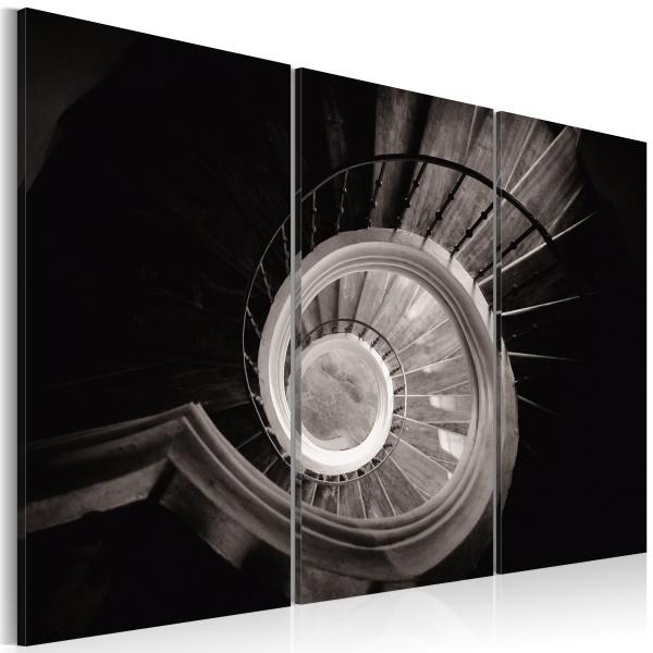 Obraz - Krętymi schodami w dół (60x40 cm) A0-N1501