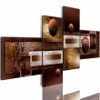 Obraz - Kule i tekstury A0-N1082