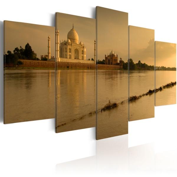 Obraz - Legendarny Tadż Mahal (100x50 cm) A0-N1545