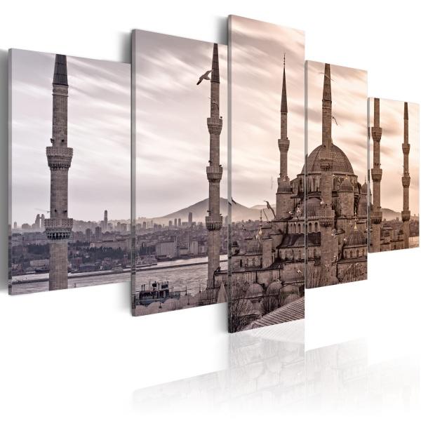 Obraz - Meczet na Bliskim Wschodzie (100x50 cm) A0-N1731
