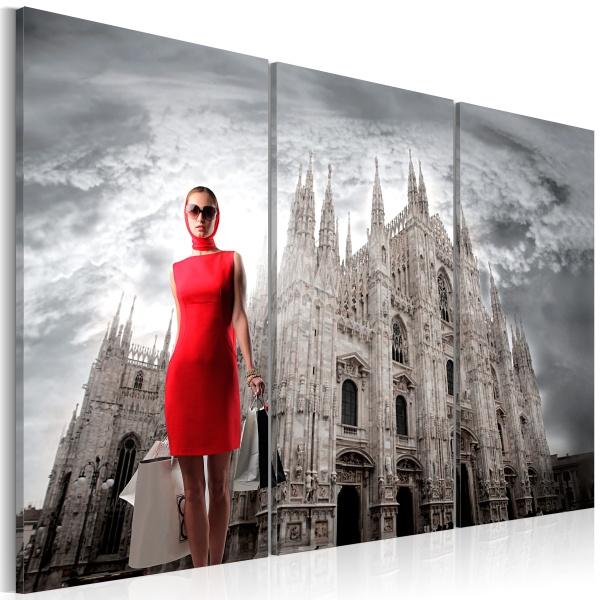 Obraz - Mediolan - stolica mody (60x40 cm) A0-N1552