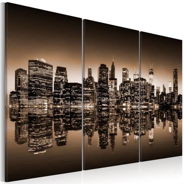 Obraz - Melancholijny Nowy jork (60x40 cm) A0-N1826