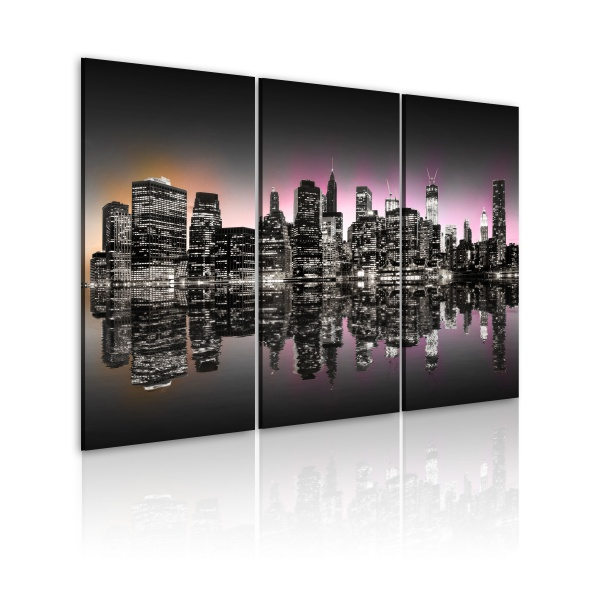 Obraz - Miasto, które nigdy nie zasypia - NYC (60x40 cm) A0-N1824