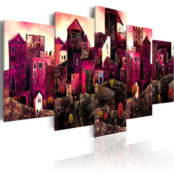 Obraz - Miasto snów (100 x 50 cm) A0-N1660