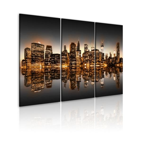 Obraz - Natchniony Nowy Jork (60x40 cm) A0-N1827