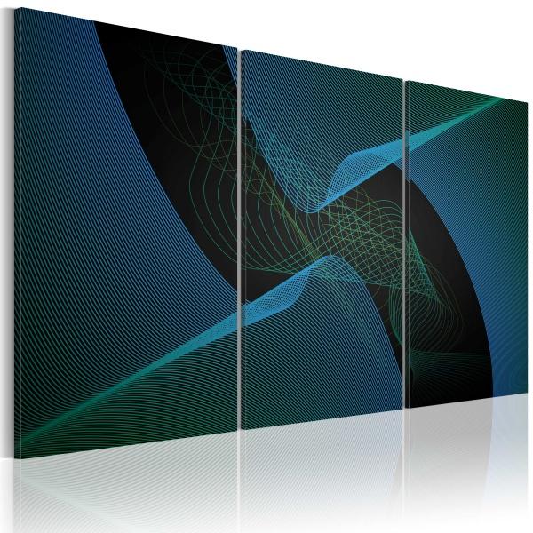 Obraz - Niebieska przestrzeń (60x40 cm) A0-N1687