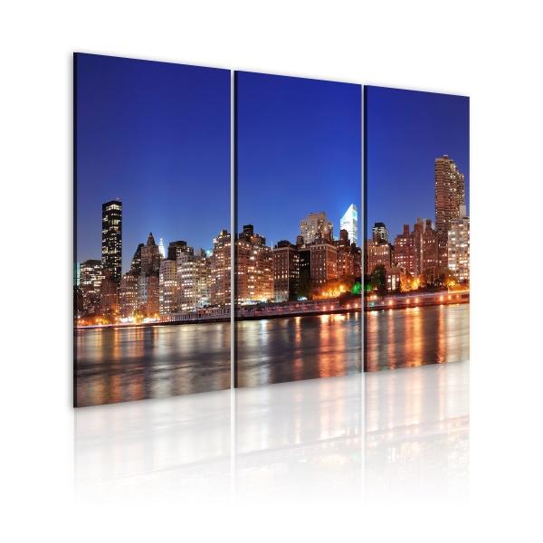 Obraz - NYC - miasto miliona świateł (60x40 cm) A0-N1704