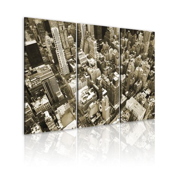 Obraz - NYC - miasto z lotu ptaka (60x40 cm) A0-N1514