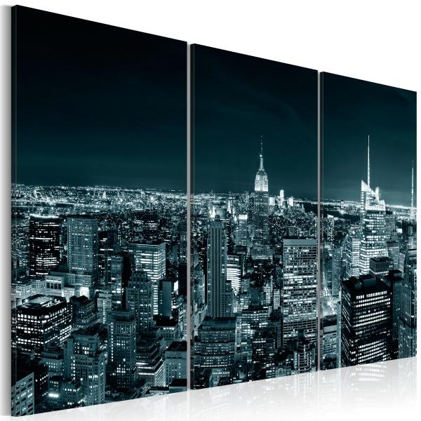 Obraz - NYC nocą (60x40 cm) A0-N1515