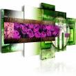 Obraz - Ogród-abstrakcja A0-N1316