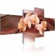 Obraz - Orchidea na przygaszonym tle A0-N1330
